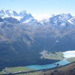 Aussicht auf St. Moritz
